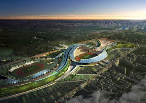 2014 Asian Games Main Stadium Incheon, South Korea 1