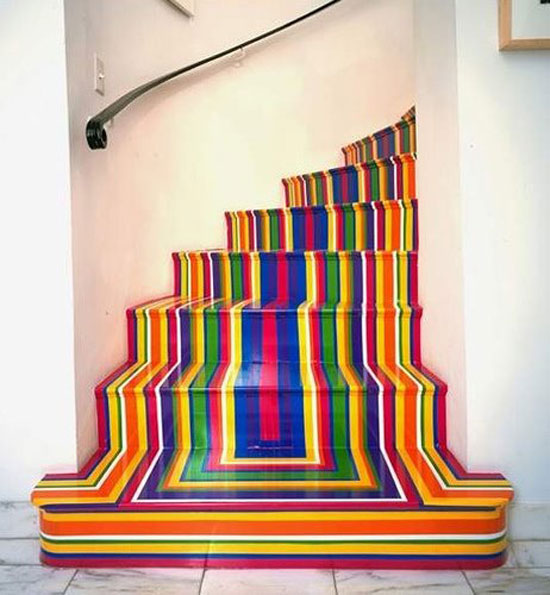 Mind blowing examples of creative stairs 50 stairs design for Statements that will blow your mind