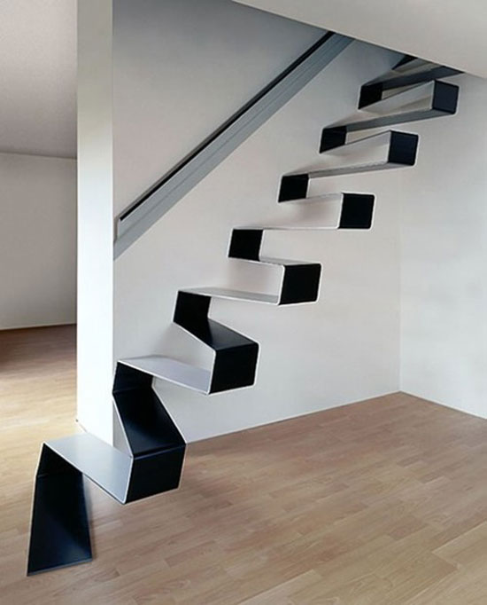 Mind blowing examples of creative stairs 50 stairs design for Unique staircase ideas