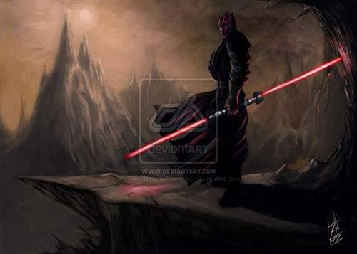 Aussie's Sith - Star Wars Drawings and Illustrations