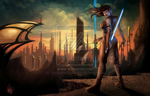 Bendix's jedi request - Star Wars Drawings and Illustrations