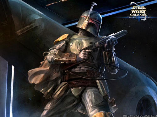 Boba Fett - Star Wars Drawings and Illustrations
