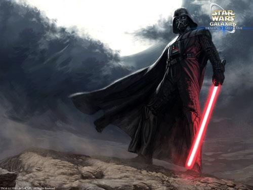 Darth Vader Star Wars Galaxies Trading Card Game