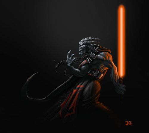 Darth Volitus - Star Wars Drawings and Illustrations