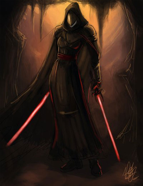 Female Sith speedpainting - Star Wars Drawings and Illustrations