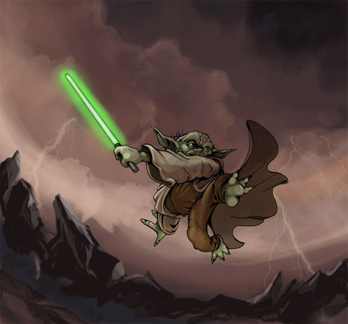 Master Yoda - Star Wars Drawings and Illustrations