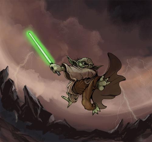 Master Yoda - Star Wars Drawings and Illustrations