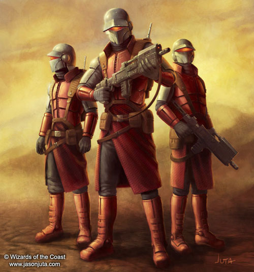 Nimbus Commandos - Star Wars Drawings and Illustrations