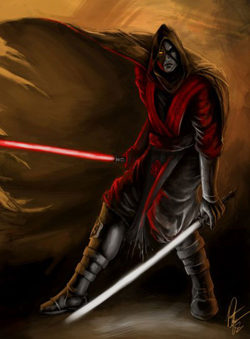 Possessed Sith - Star Wars Drawings and Illustrations