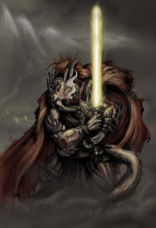 Renegade Jedi - Star Wars Drawings and Illustrations