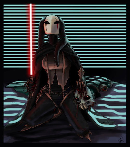 Twi'lek Sith Lord - Darth Guile - Star Wars Drawings and Illustrations