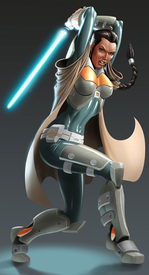 SWTOR Jedi - Star Wars Drawings and Illustrations
