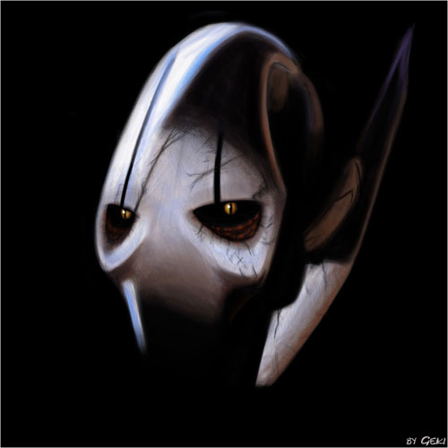 General Grievous - Star Wars Drawings and Illustrations