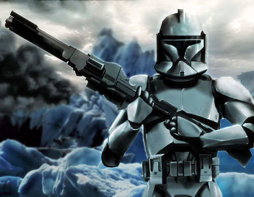 Clone trooper - Star Wars Drawings and Illustrations