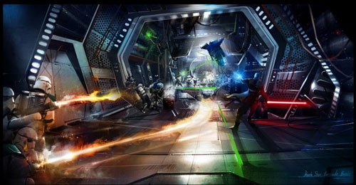The Force Unleashed - Star Wars Drawings and Illustrations