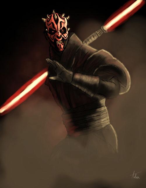 Darth Maul - Star Wars Drawings and Illustrations