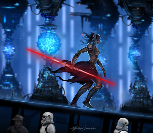Sith concept - Star Wars Drawings and Illustrations