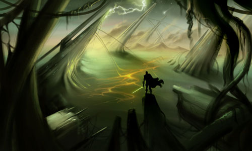 Landscape - Star Wars Drawings and Illustrations