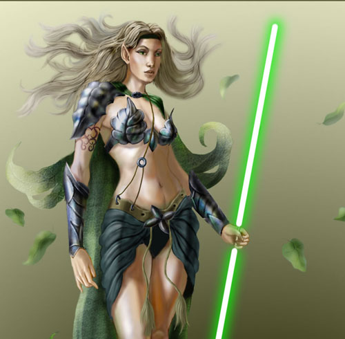 The new Master jedi - Star Wars Drawings and Illustrations