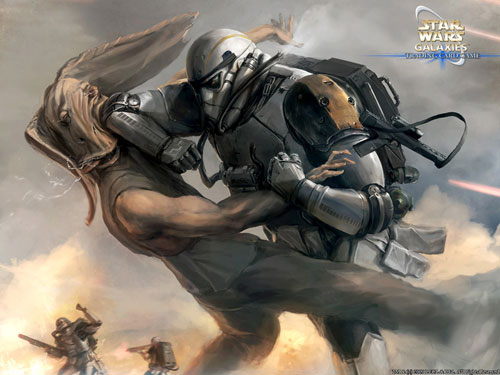 Stim Armour - Star Wars Drawings and Illustrations