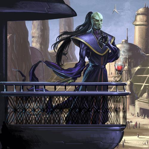 Xizor - Star Wars Drawings and Illustrations