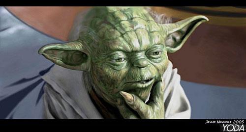 Yoda - Star Wars Drawings and Illustrations
