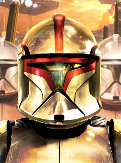 Clone Wars Trooper helmet - Star Wars Drawings and Illustrations