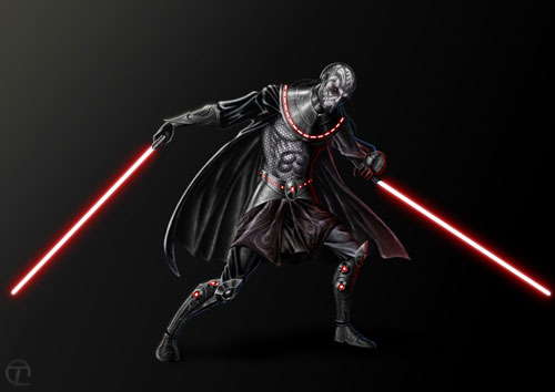 Sith Lord - Star Wars Drawings and Illustrations