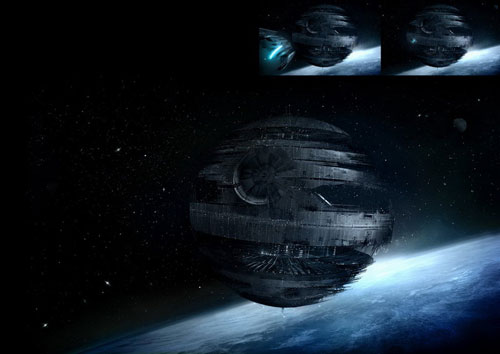Death Star - Star Wars Drawings and Illustrations