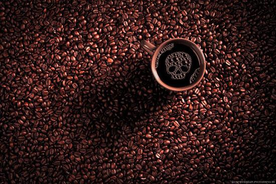 Fall Coffee Photography