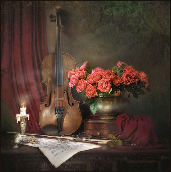 After the concert - Art of Still life photography