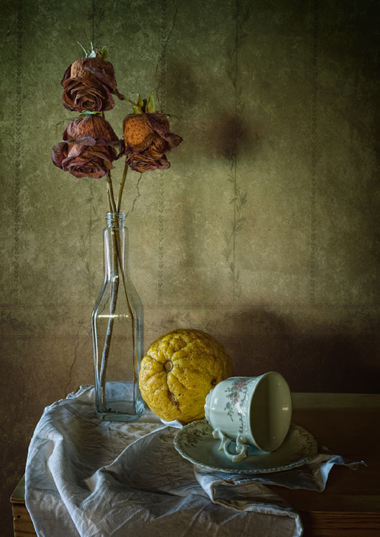 Love ends Still Life Photography