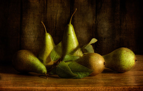 Pears Still Life Photography