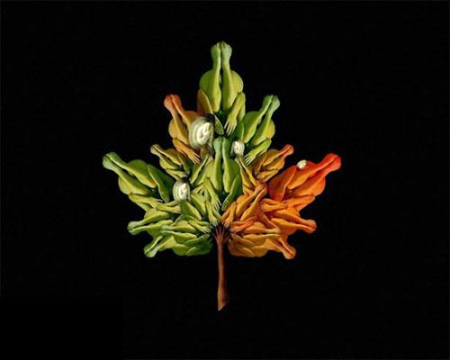 Human flowers by Cecelia Webber 4