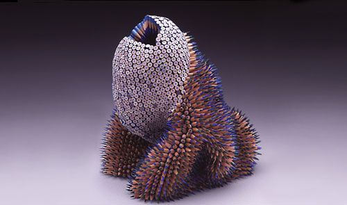 Colored Pencil Sculptures by Jennifer Maestre 8