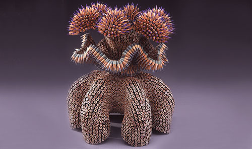Colored Pencil Sculptures by Jennifer Maestre 3