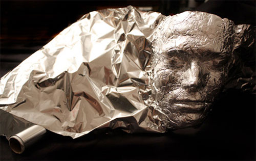 Tin foil art by Dominic Wilcox 3