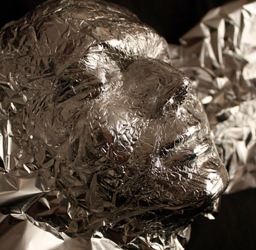 Tin foil art by Dominic Wilcox 4