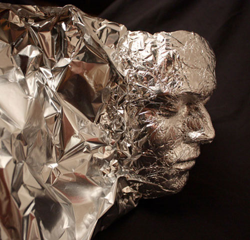 Tin foil art by Dominic Wilcox 5