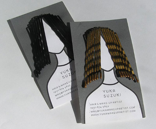Yuka Suzuki Strange Business Card