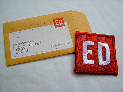 Ed Strange Business Card