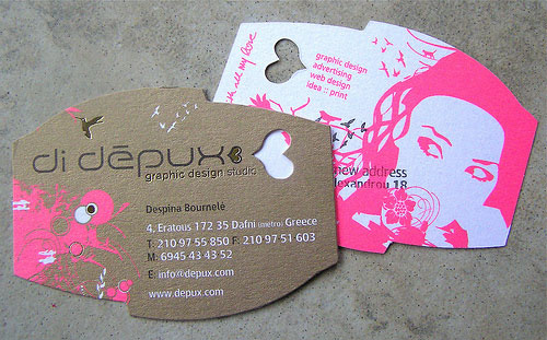 Depux Strange Business Card