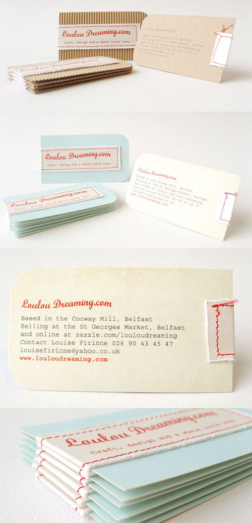 Loulou Dreaming Strange Business Card