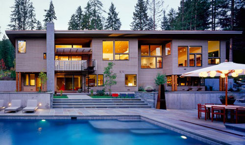 Hillside Residence in Missoula, Montana 1 architecture and interior design