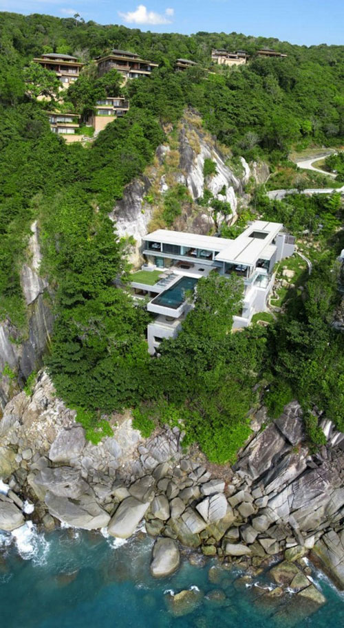 Villa Amanzi in Phuket, Thailand 1 architecture and interior design