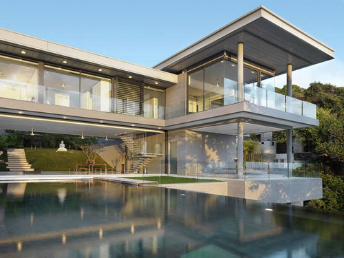 Villa Amanzi in Phuket, Thailand 2 architecture and interior design