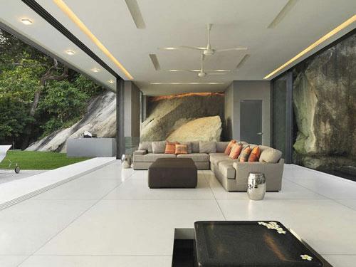 Villa Amanzi Phuket Thailand 3 Houses With Superb Architecture And Interior Design