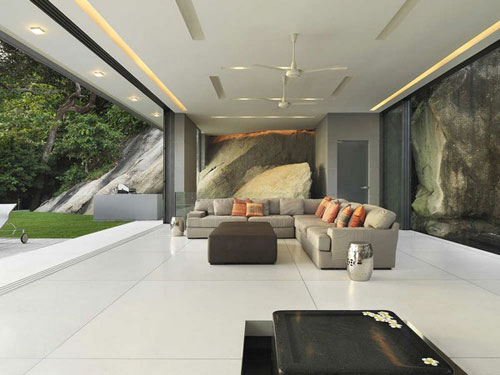 Villa Amanzi in Phuket, Thailand 3 architecture and interior design