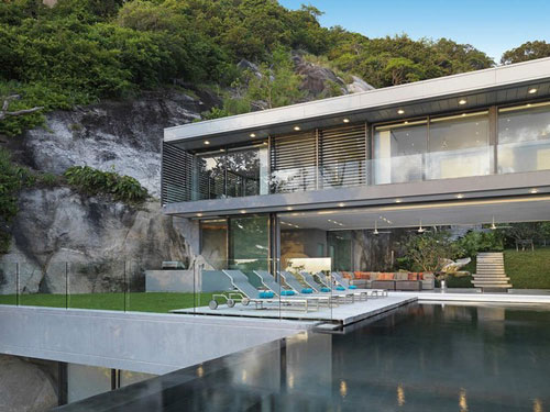Villa Amanzi in Phuket, Thailand 4 architecture and interior design