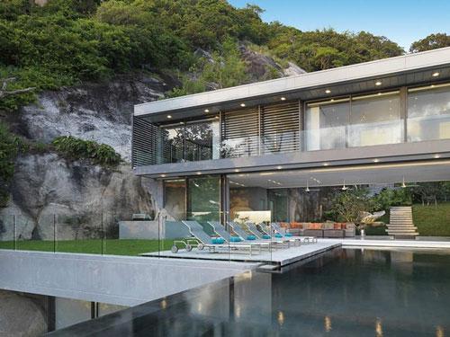 Villa Amanzi in Phuket, Thailand 4 architecture and interior design